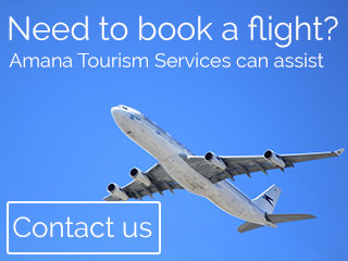 Book a flight - Amana Tourism Services