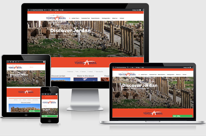 Amana launches new website for international tourists